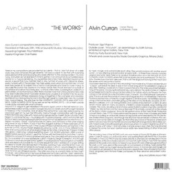 ALVIN CURRAN/The Works(LP) (1980/3rd) (アルヴァン・カラン/USA)