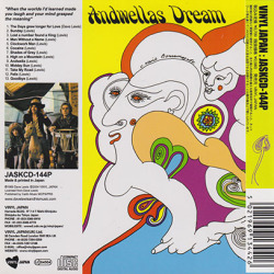 ANDWELLAS DREAM/Love And Poetry(ラヴ&ポエトリー)(Used CD) (1969/only) (アンドウェラズ・ドリーム/UK)