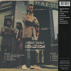 AYNSLEY DUNBAR RETALIATION/To Mum From Aynsley And The Boys (1969/3rd) (エインズレー・ダンバー/UK)