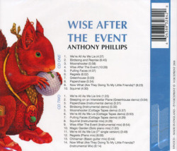 ANTHONY PHILLIPS/Wise After the Event (1978/2nd) (アンソニー・フィリップス/UK)