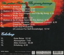 ACHIM REICHEL (& MACHINES)/Die Grune Reise + Erholung (1971+75/1+6th) (アヒム・ライヒェル(&マシーンズ)/German)