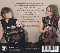 THE ASKEW SISTERS/Through Lonesome Woods (2010/2nd) (ジ・アスキュー・シスターズ/UK)