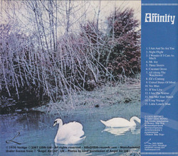 AFFINITY/Same(Used CD/Digi-Pack) (1970/only) (アフィニティ/UK)