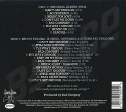 BAD COMPANY/Bad Company(Used 2CD) (1974/1st) (バッド・カンパニー/UK)