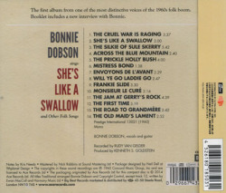 BONNIE DOBSON/She's Like A Swallow(シーズ・ライク・ア・スワロウ) (1961/1st) (ボニー・ドブソン/Canada,UK)
