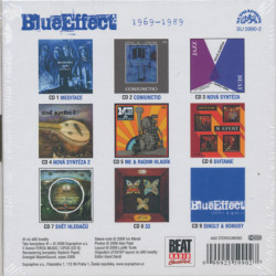 BLUE EFFECT(MODRY EFEKT,M.EFFEKT)/1969-1989 (1969-89/9CD Box) (ブルー・エフェクト/Czech)