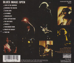 BLUES IMAGE/Open(Used CD) (1970/2nd) (ブルース・イメージ/USA)