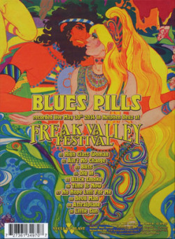 BLUES PILLS/Live (2015/Live) (ブルース・ピルズ/USA,Sweden,France)