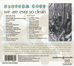 BLOSSOM TOES/We Are Ever So Clean(Digi-Pack) (1968/1st) (ブロッサム・トゥズ/UK)