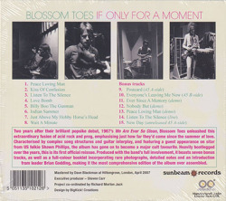 BLOSSOM TOES/If Only For A Moment(Digi-Pack) (1969/2nd) (ブロッサム・トゥズ/UK)