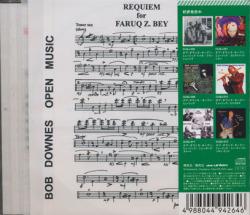 BOB DOWNES OPEN MUSIC/MiXED BAG(ミックスド・バッグ) (2012) (ボブ・ダウンズ・オープン・ミュージック/UK)