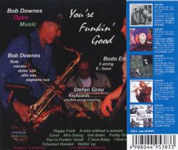 BOB DOWNES OPEN MUSIC/You're Funkin Good(ユー・アー・ファンキン・グッド)(Used CD+CDR) (2001) (ボブ・ダウンズ・オープン〜/UK)