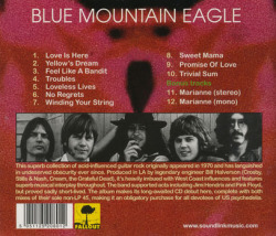 BLUE MOUNTAIN EAGLE/Same(Used CD) (1970/only) (ブルー・マウンテン・イーグル/USA)