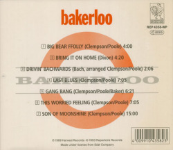 BAKERLOO/Same(Used CD) (1969/only) (ベーカルー/UK)