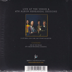 BRUFORD/Live At the Venue + 4th Album Rehearsal Sessions(2CD) (1980/Live+Unreleased) (ブルーフォード/UK)