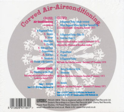 CURVED AIR/Air Conditioning: Expanded 2CD Edition (1970/1st) (カーヴド・エア/UK)