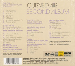 CURVED AIR/Second Album: 2Disc Expanded Edition(CD+DVD) (1971/2nd) (カーヴド・エア/UK)