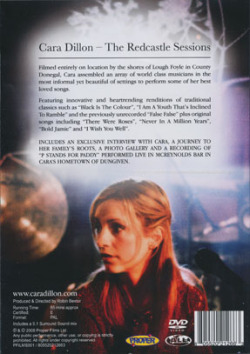 CARA DILLON/The Redcastle Sessions (2008/DVD) (カーラ・ディロン/Ireland)