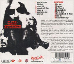 CLARK-HUTCHINSON/A=MH2(Used CD) (1969/1st) (クラーク・ハッチンソン/UK)