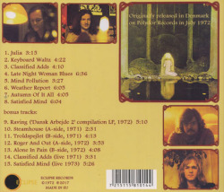 CULPEPER'S ORCHARD/Second Sight (1972/2nd) (カルペパーズ・オーチャード/Denmark)