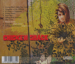 CHICKEN SHACK/Imagination Lady (1971/5th) (チキン・シャック/UK)