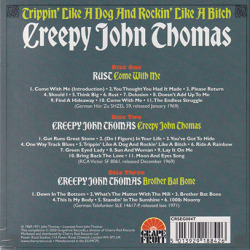 CREEPY JOHN THOMAS/Trippin' Like A Dog And Rockin' Like A Bitch(3CD) (1969-70/Comp.) (クリーピィ・ジョン・トーマス/Australia,UK)