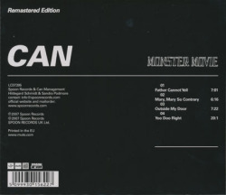 CAN/Monster Movie (1969/1st) (カン/German)