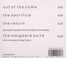COMUS/Out Of The Coma (2012/3rd) (コウマス/UK)
