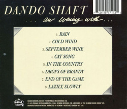 DANDO SHAFT/An Evening With... (1970/1st) (ダンド・シャフト/UK)