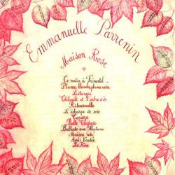 EMMANUELLE PARRENIN/Maison Rose (1977/1st) (エマニュエル・パルナン/France)