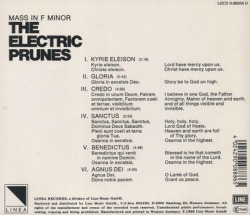 THE ELECTRIC PRUNES/Mass In F Minor(Used CD) (1968/3rd) (ザ・エレクトリック・プルーンズ/USA)