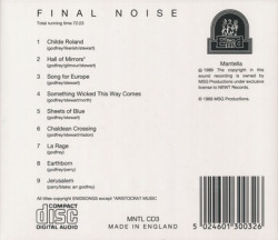 THE ENID/Final Noise(Used CD) (1989/11th) (エニド/UK)