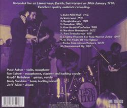 EAST OF EDEN/Live In Zurich 1970 (1970/Live) (イースト・オブ・エデン/UK)