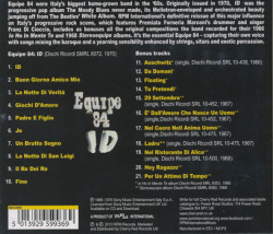 EQUIPE 84/ID: Expanded Edition(Used CD) (1970/3rd) (エキペ 84/Italy)