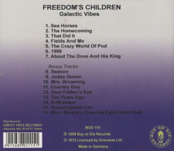FREEDOM'S CHILDREN/Galactic Vibes(Used CD) (1971/3rd) (フリーダムズ・チルドレン/South Africa)