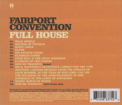 FAIRPORT CONVENTION/Full House (1970/5th) (フェアポート・コンヴェンション/UK)