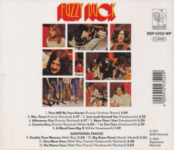 FUZZY DUCK/Same(Used CD) (1971/only) (ファジー・ダック/UK)
