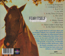FEAR ITSELF/Same (1969/only) (フィアー・イットセルフ/USA)
