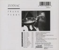 FRANK PERRY/Zodiac (1986/3rd) (フランク・ペリー/UK)