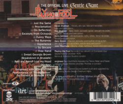 GENTLE GIANT/Playing The Fool(Used 2CD) (1977/Live) (ジェントル・ジャイアント/UK)