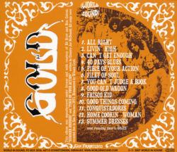 GOLD/Mission Rock (1971/Unreleased) (ゴールド/USA)