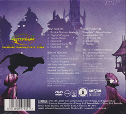 GREENSLADE/Bedside Manners Are Extra: Expanded CD+DVD Edition (1973/2nd) (グリーンスレイド/UK)