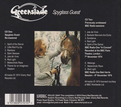 GREENSLADE/Spyglass Guest: Expanded 2CD Edition (1974/3rd) (グリーンスレイド/UK)