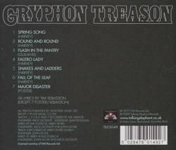 GRYPHON/Treason (1977/5th) (グリフォン/UK)