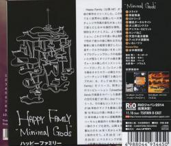 HAPPY FAMILY/Minimal Gods(ミニマル・ゴッズ) (2014/3rd) (ハッピー・ファミリー/Japan)