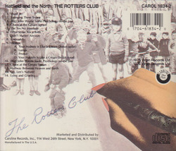HATFIELD AND THE NORTH/The Rotters' Club(Used CD) (1975/2nd) (ハットフィールド&ザ・ノース/UK)