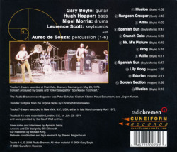 ISOTOPE/Golden Section (1974-75/Unreleased Live) (アイソトープ/UK)
