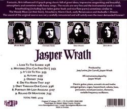 JASPER WRATH/Same (1971/only) (ジャスパー・ラス/USA)