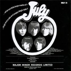 JULY/Same (1968/only) (ジュライ/UK)