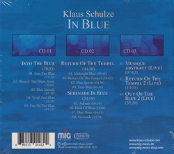 KLAUS SCHULZE/In Blue(3CD) (1995/28th) (クラウス・シュルツェ/German)